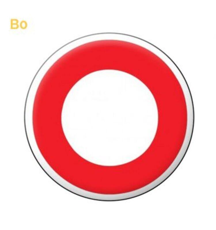 Ce panneau de police B0 ci-contre vient matérialiser cette interdiction circulation à tout véhicule dans les deux sens...