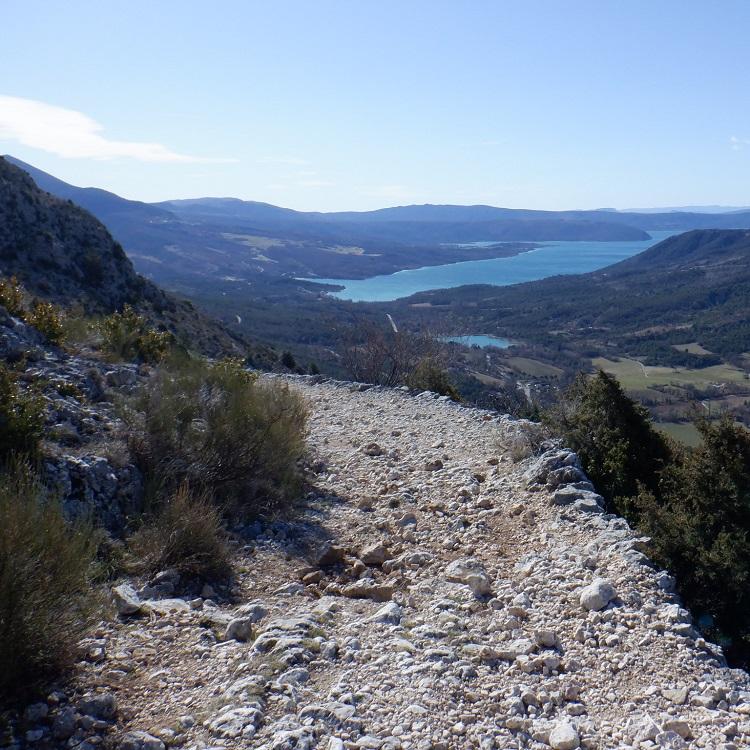 Randonnées moyennes & longues distances Moustiers - Circuit de Vincel