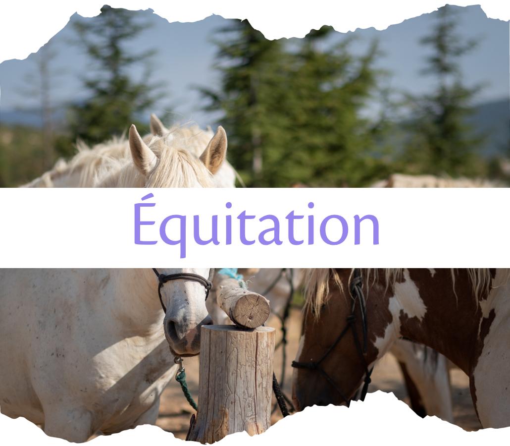 L'équitation à Moustiers-Sainte-Marie
