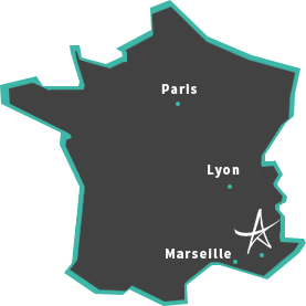 carte de france