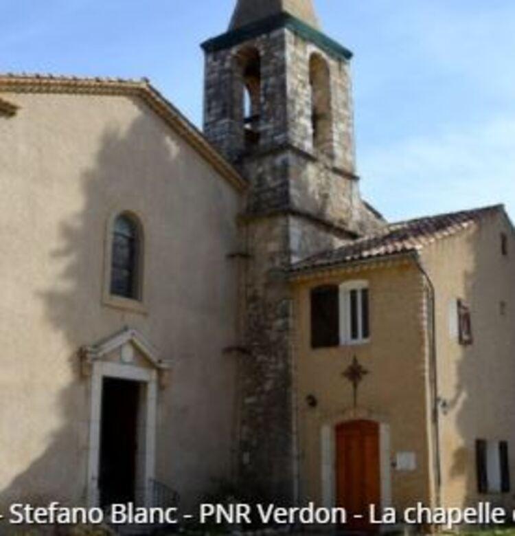 Riez - La chapelle Sainte-Maxime (Randos en FAMILLE, Parc du Verdon)