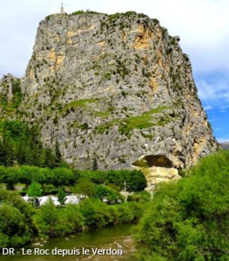 Castellane - Notre-Dame du Roc (Randos en FAMILLE, Parc du Verdon)