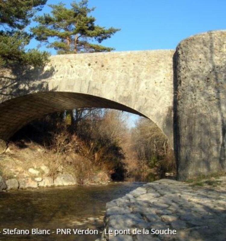 Comps-sur-Artuby - Le Pont de la Souche (Randos en FAMILLE, Parc du Verdon)