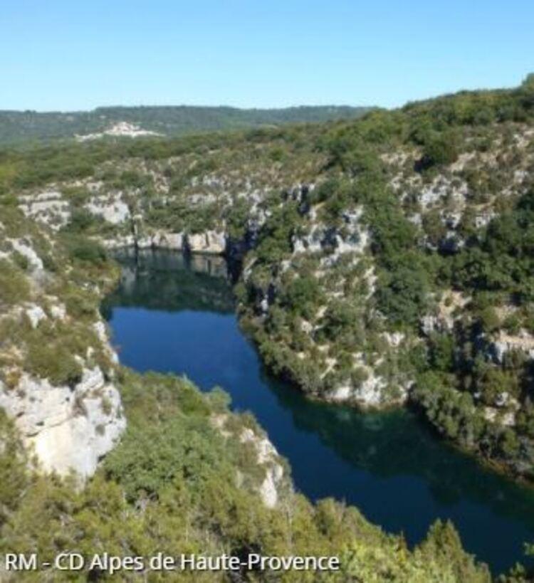 Saint-Laurent-du-Verdon - Coteau Chiron (Randos en FAMILLE, Parc du Verdon)