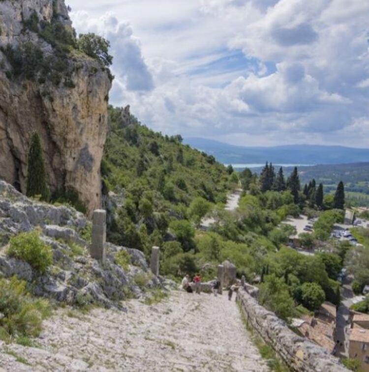 Moustiers-Sainte-Marie - Le tour du village par les Claux (Randos en FAMILLE, Parc du Verdon)