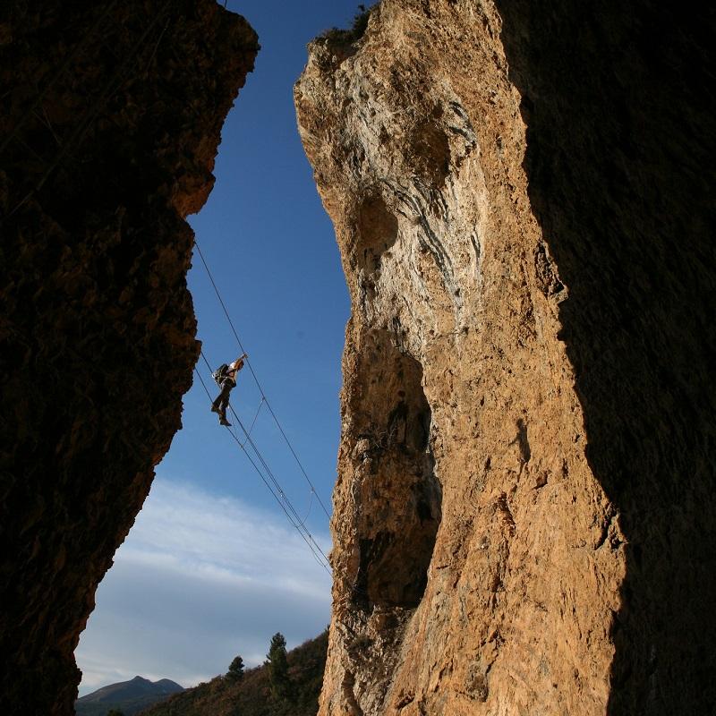 Via Ferrata du « Rocher de Neuf Heures » de Digne-les-Bains