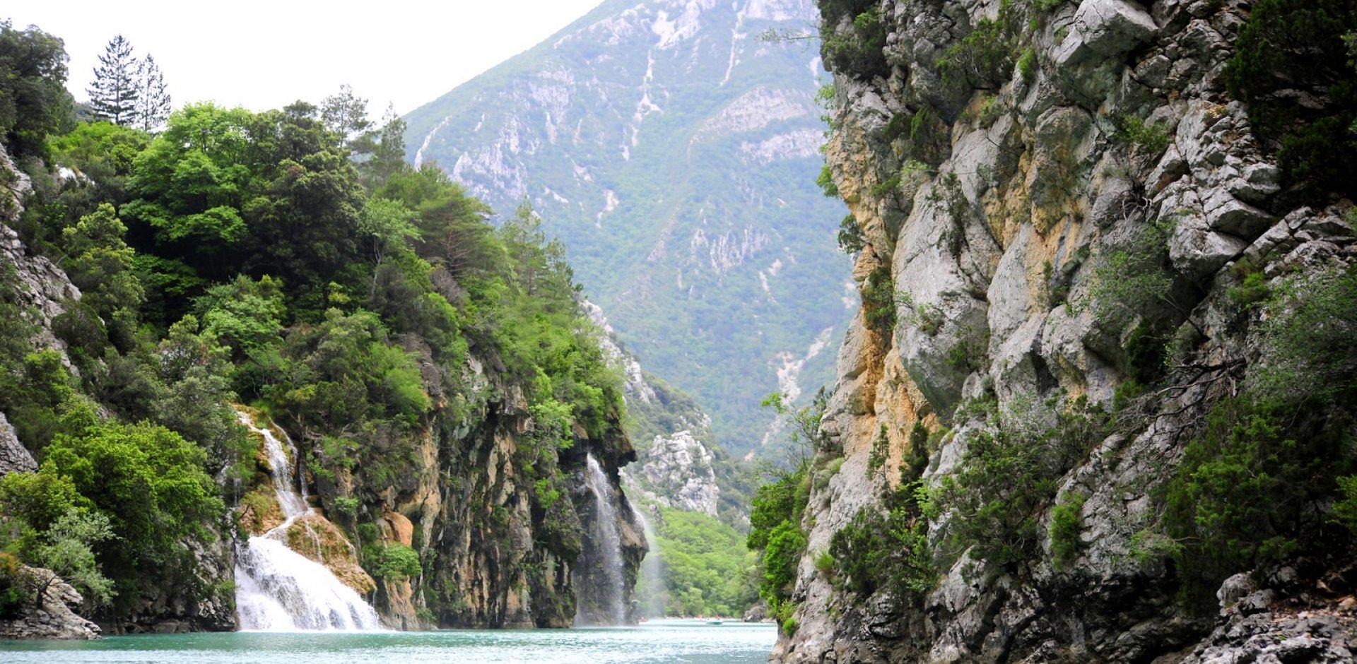 cascades de Saint Maurin dans les Gorges du Verdon