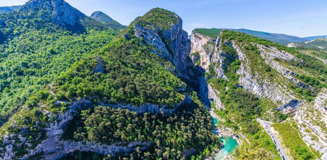 Point Sublime : l'un des points de passage incontournables de ce sentier en famille du cœur des gorges du Verdon ! (©AD04-Teddy Verneuil)
