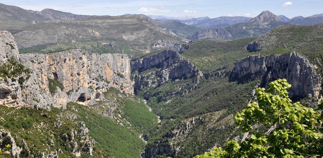 The verdon gorges