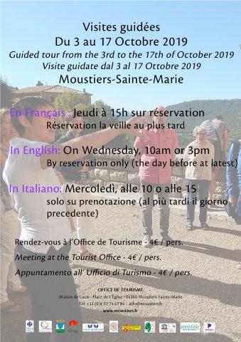 Visite guidée du village Moustiers-Sainte-Marie