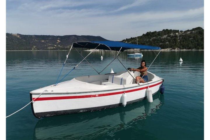 Selec boat 8 seats