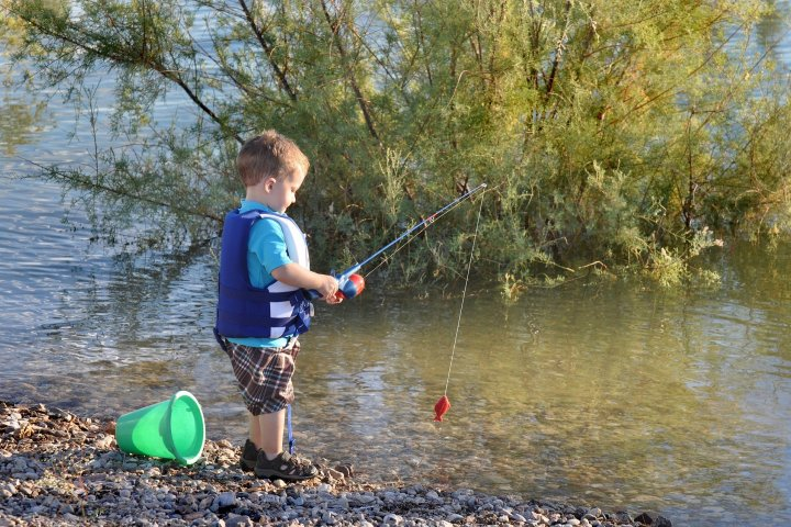Pêche dans le Verdon