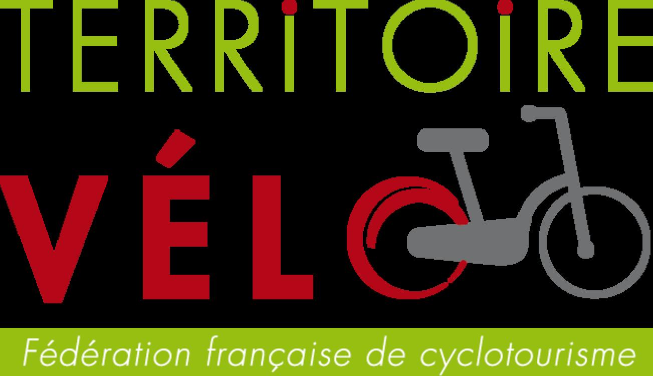 """Logo du label """"Territoire vélo"""""""